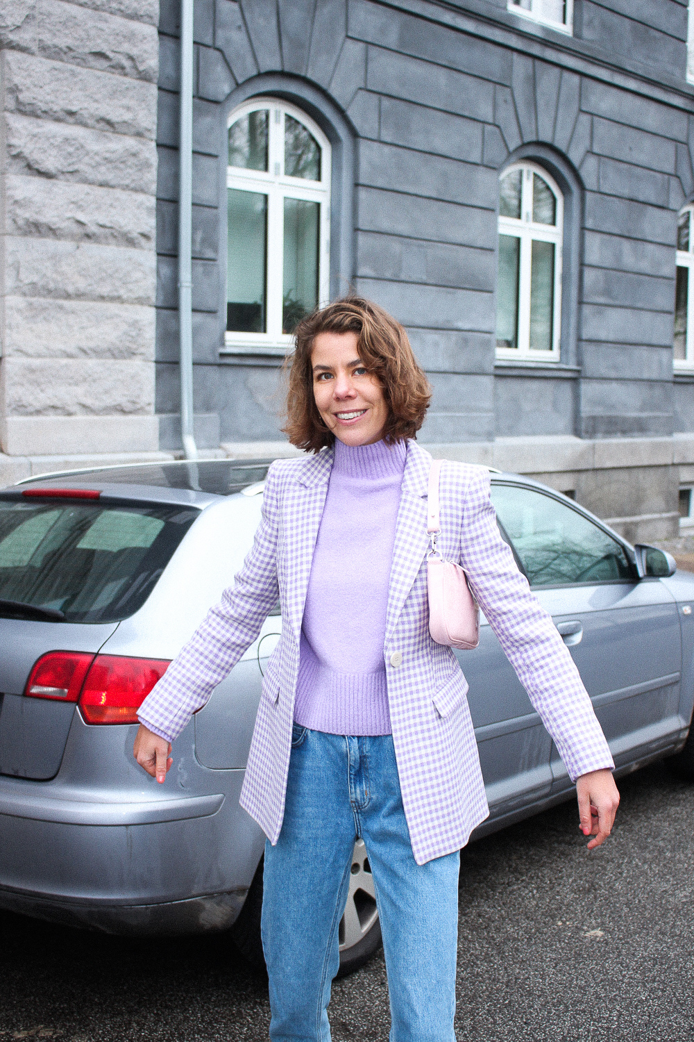 Lilla blazer fra & other stories