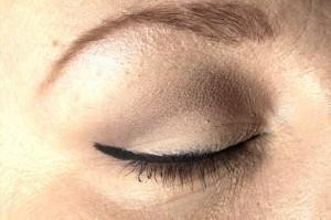 Diva look - highlighter ved eyelineren