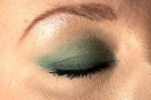 Smokey eyes eyeliner og mascara