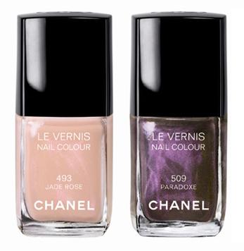 Chanel Paradoxal og Jade Rose neglelak