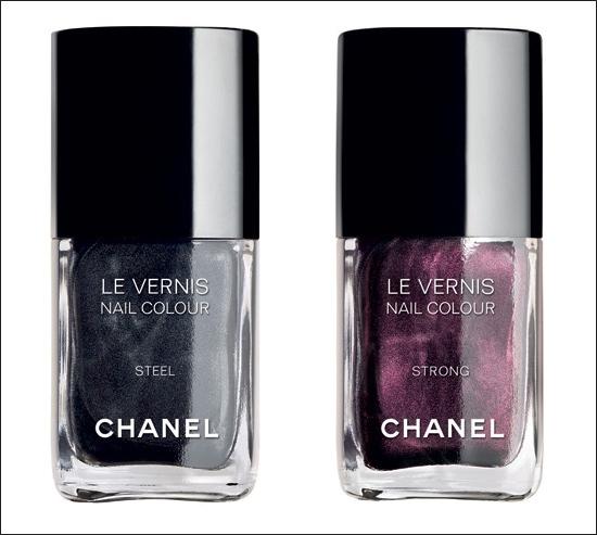Chanel SoHo Collection Strong Steel neglelak