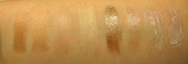 MAC Cham Pale Lipstick og LipGelée swatches