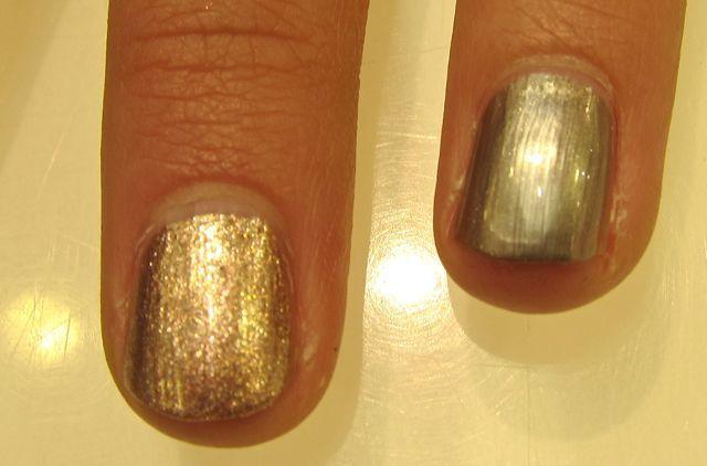 MAC Cham Pale neglelak Soiree og Very Important Platinum