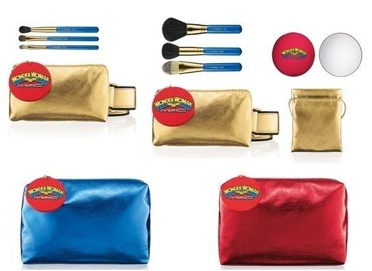 MAC Wonder Woman pensler, spejl og tasker