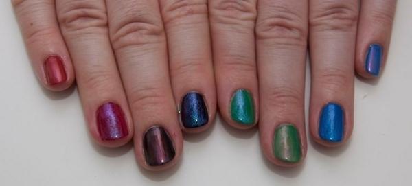 CND Colour Effects på neglene
