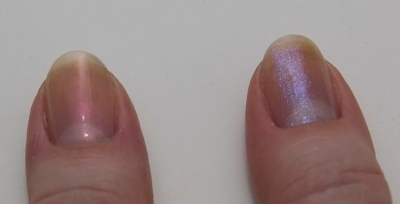 CND Effects: Copper Pearl #551 og Sapphire Sparkle #561