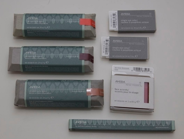 Aveda Makeup: indpakning