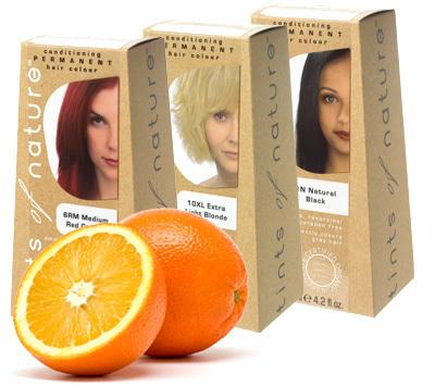 økologisk hårfarve til gråt hår