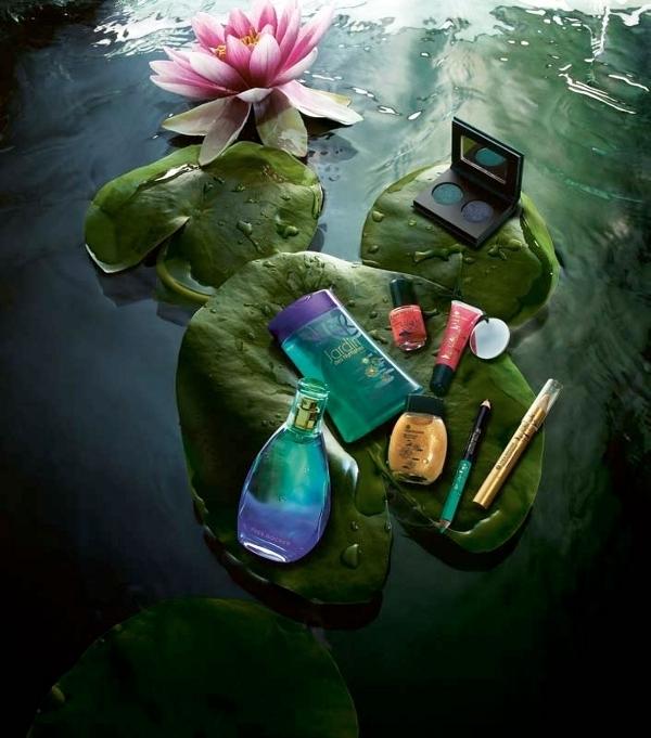 Sommer kollektionen Jardin des Nymphes fra Yves Rocher