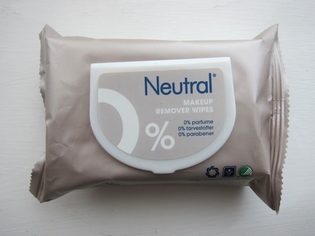 Neutral Makeup Remover Wipes