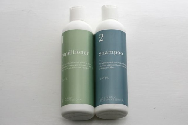 Purely Professional Conditioner 1 og Shampoo 2
