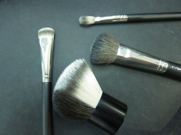 MAC Semi-Precious split fibre brushes