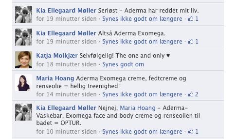 A-Derma Facebook