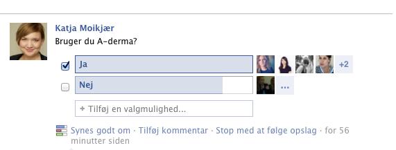 A-Derma blogger afstemning