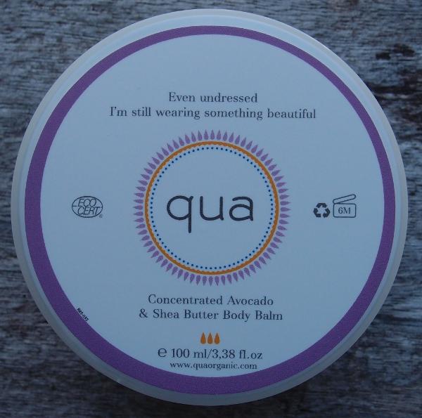 Qua Organic Concentrated Avocado & Shea Butter Body Balm