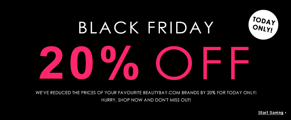 Black Friday på Beauty Bay