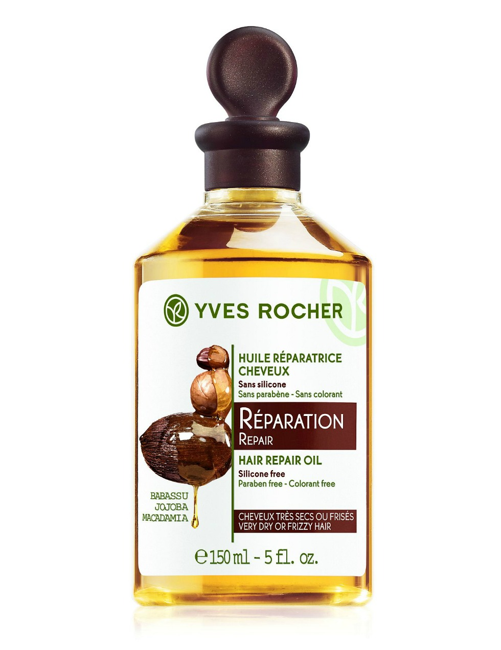 Yves Rocher Hair Repair Oil