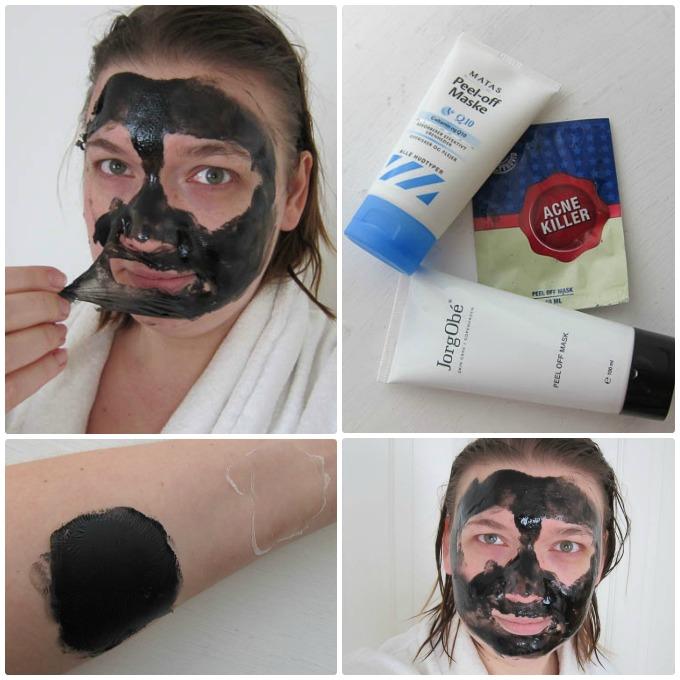 Peel off masker