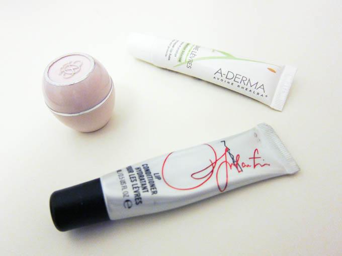 Læbepomader MAC A-Derma og Oriflame