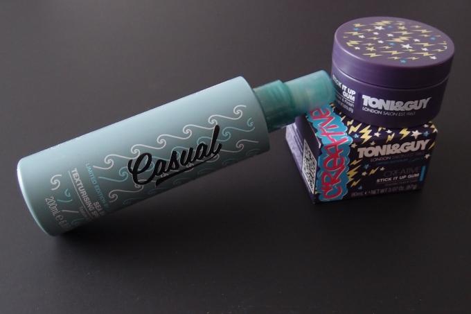 Tony&Guy Sea Salt Texturising Spray og Stick It Up Gum