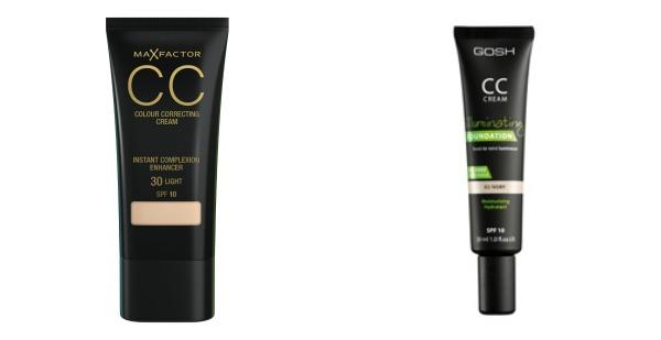 Gosh og Max Factor CC Cream
