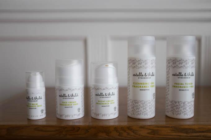 Esthelle & Thild Fragrance Free serie