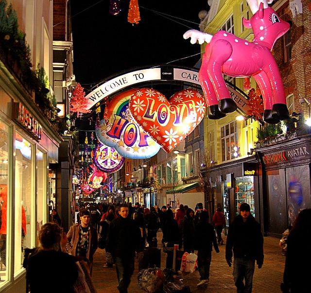 Julehandel i London
