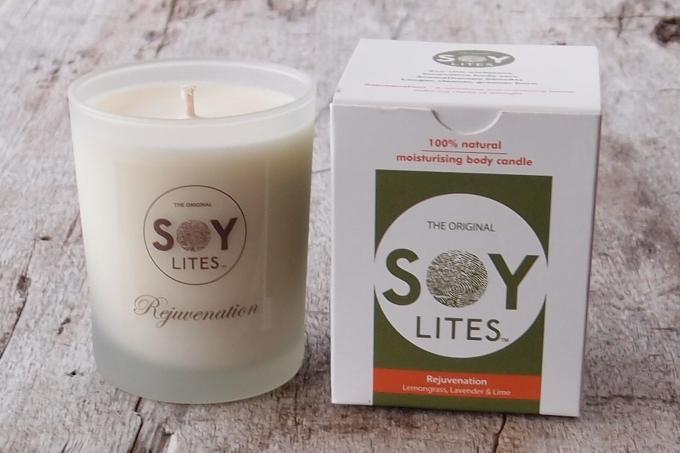 Soy Lites Moisturising Body Candle Rejuvenation