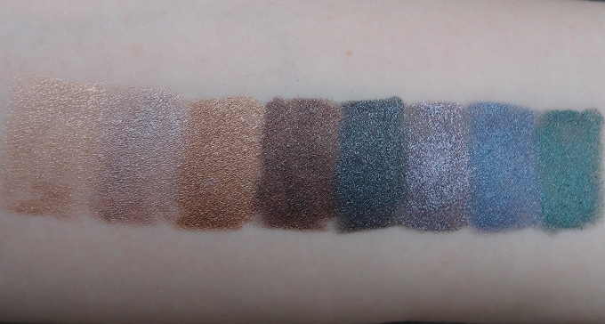 GOSH Forever Eye Shadow Swatches
