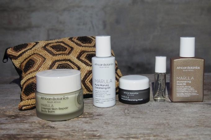 African Botanics Rejsesæt og Intense Skin Repair Body Balm