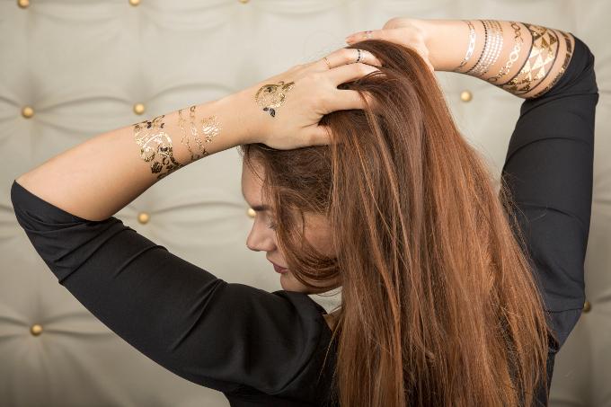 DanCosmetic Metallic Tattoos