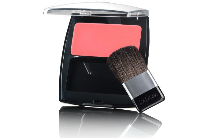 IsaDora Perfect Powder Blusher i farven Perfect Peach