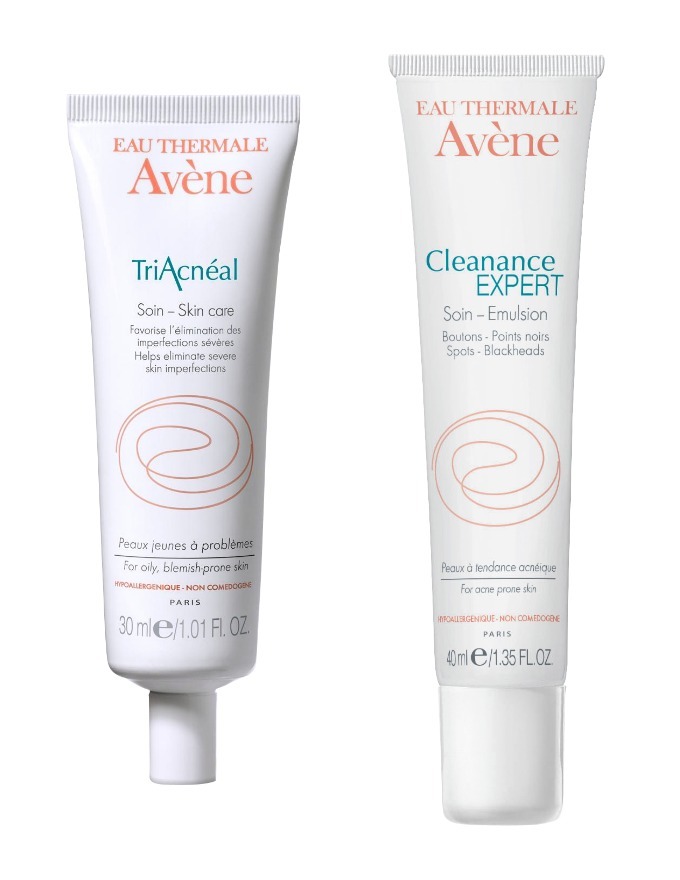 Avène Cleanance Expert og Triacnèal