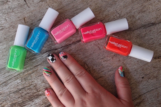 Nailart med Nailstation