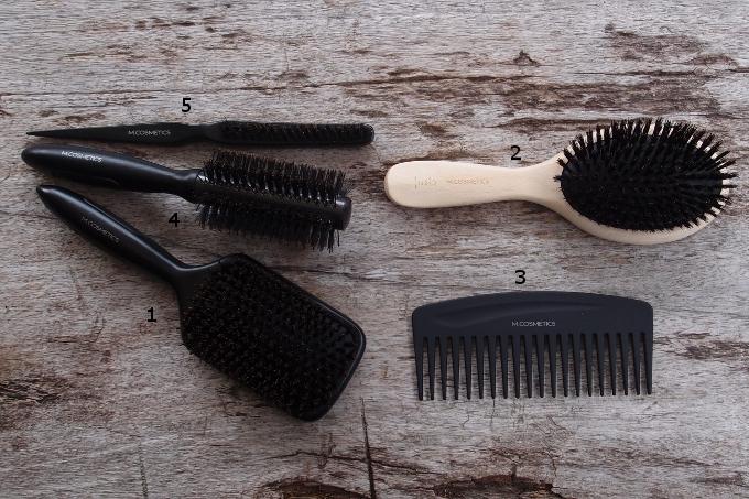 M. Cosmetics hårbørster og kamme