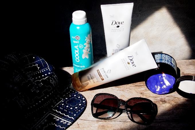 Pas på håret i solen