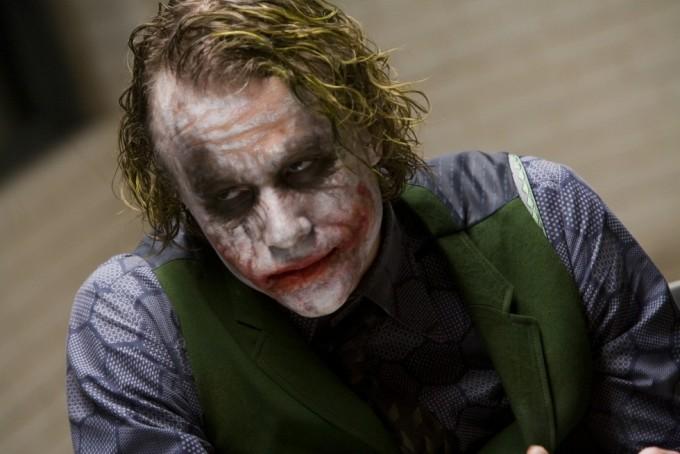 Heath Ledger som jokeren