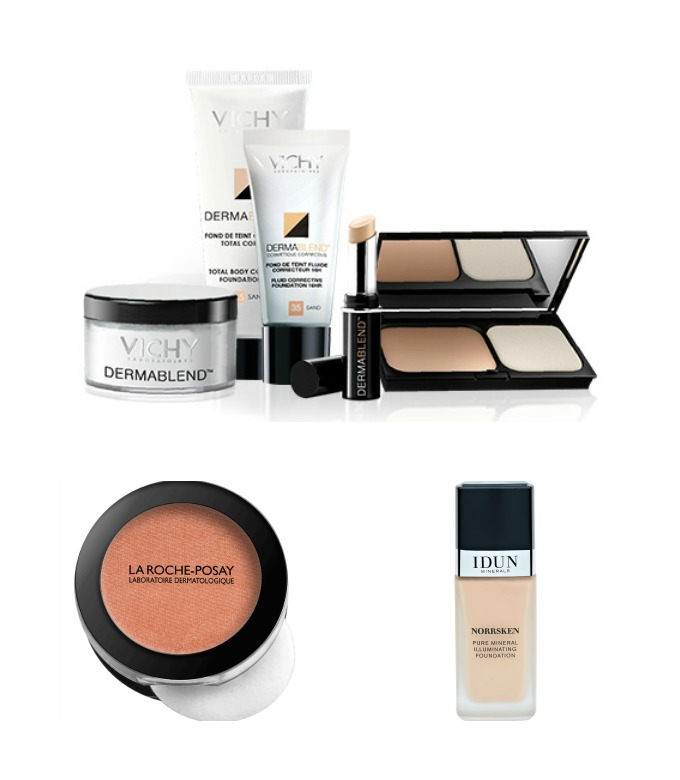 Makeup fra Vichy, La Roche-Posay og Idun
