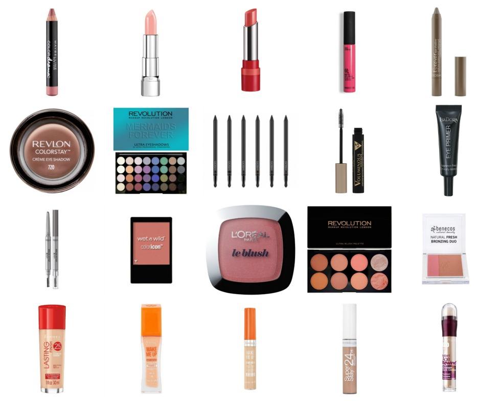 Makeup under 100
