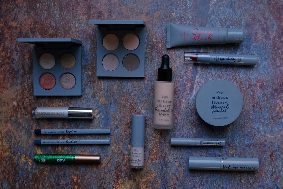 Lørdagslook: The Makeup Library