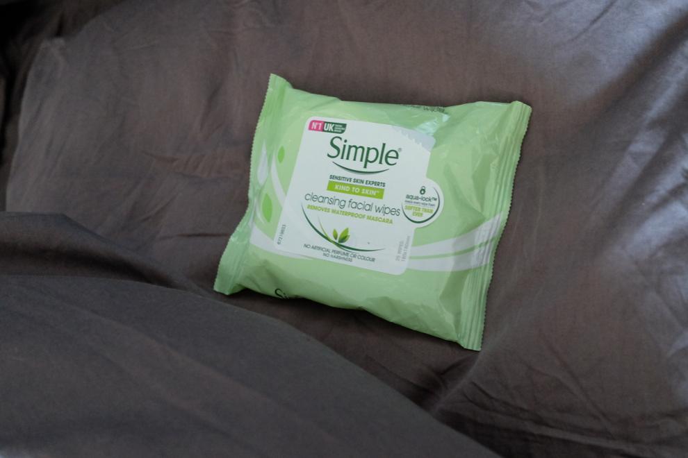 Simple Cleansing Facial Wipes: Hurtig og effektiv rens