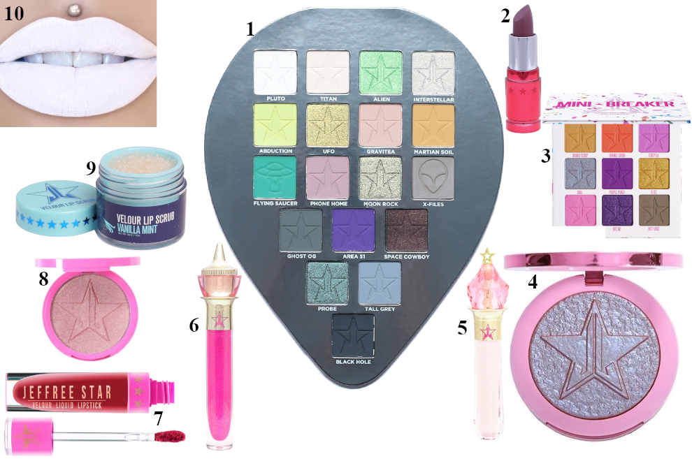 Torsdags Top Ti: Jeffree Star Cosmetics
