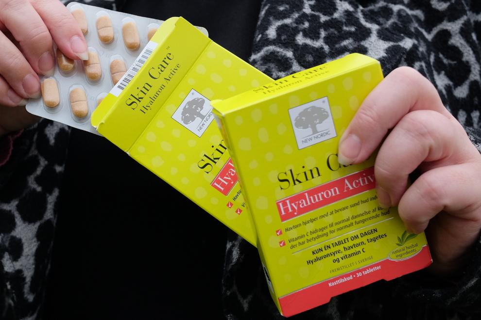 Få fylden og gløden tilbage i huden med Hyaluron Active