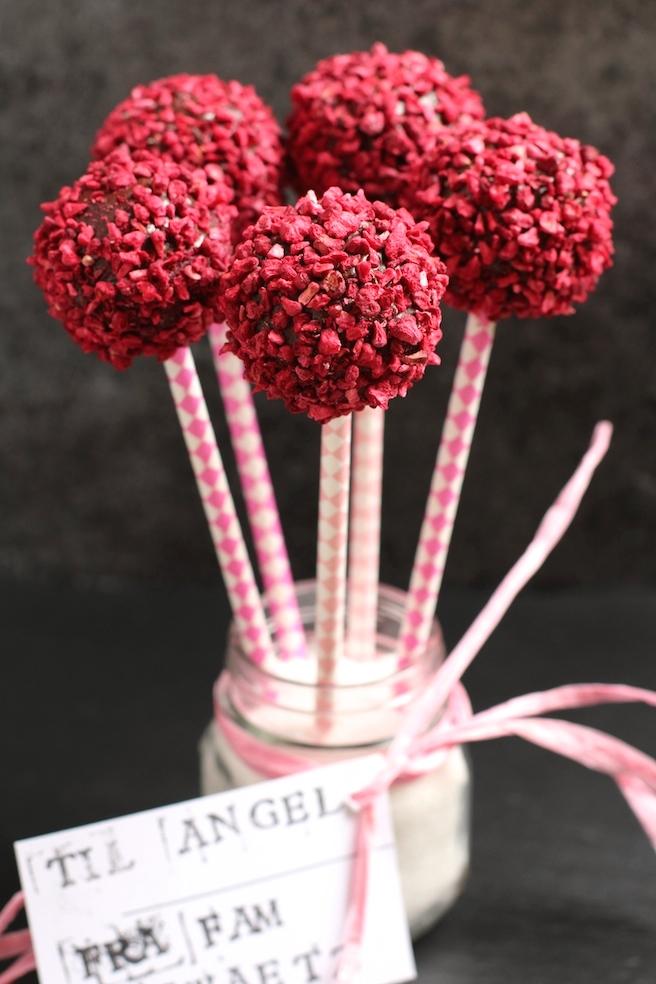 Chokolade cakepops