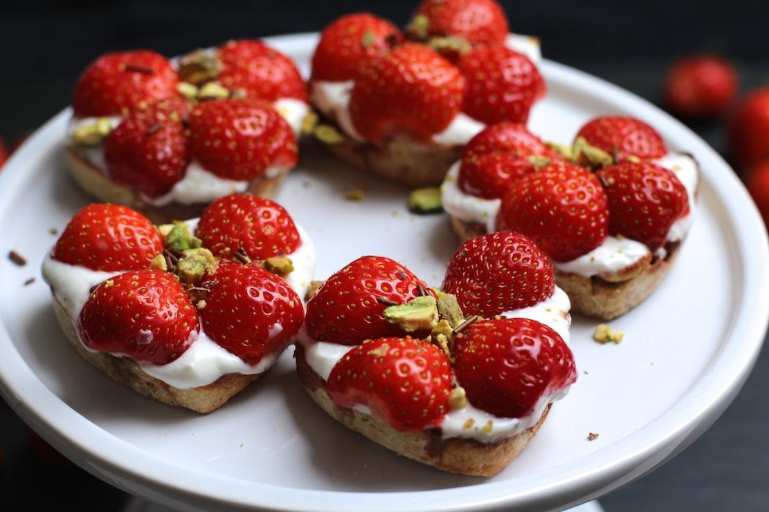 Jordbærtærter2