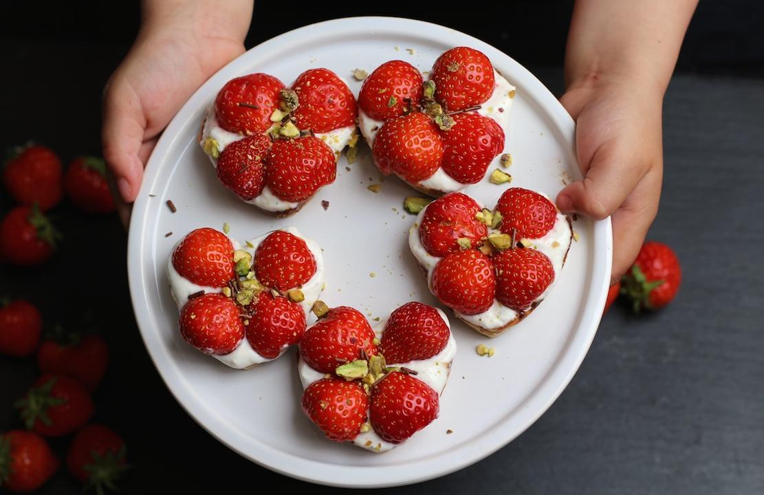 Jordbærtærter