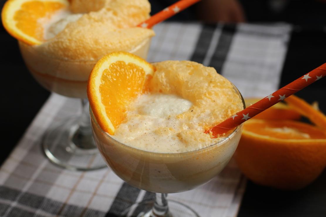 Appelsin soda float