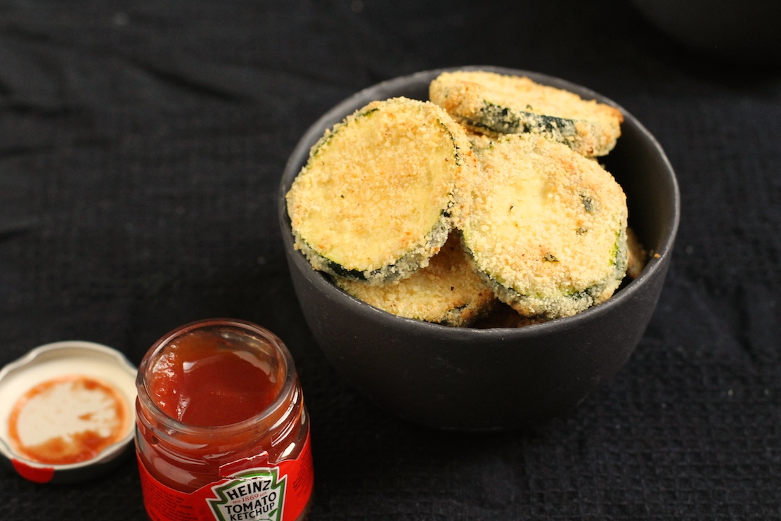 Mandelbagte squash chips