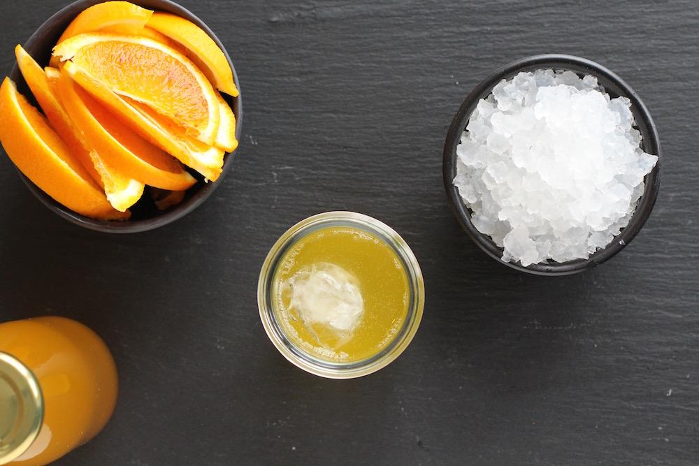 Vandkefir med appelsin