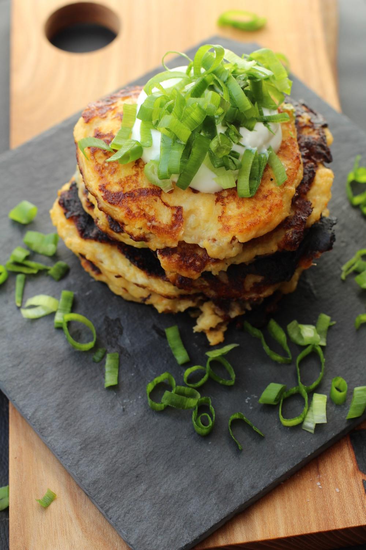 alt - Kartoffel pandekager med ost
